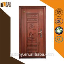 Personnalisé/droite intérieur/extérieur porte, de résistance au feu feu porte industrielle