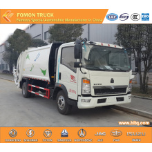 SINOTRUK 4X2 rear-loaded compactor vehicle