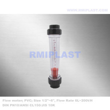 PVC Flow meter For Water System