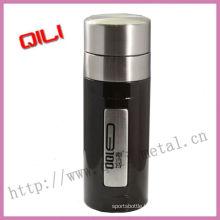 2012 new type black stainless steel vacuum mugs