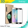 Prix usine 3D sont Edge forte colle Protecteur d'écran Gorilla Glass de galvanoplastie pour Samsung S7 edge