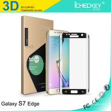 Werksversorgung !!! 9H 0.2mm Ultradünne 3D Anti Blaulicht Gehärtetem Glas Displayschutzfolie Für Samsung S6galaxy s7 Kantenschutz