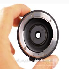 Lente de microscópio de lente micro microscópica óptica lente do projetor bixenon opcional