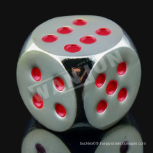 Sedex 4p custom logo 16mm gambling dice