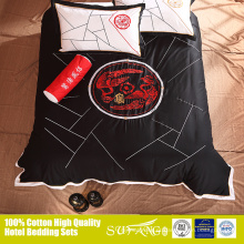 Exclusivo venda phoenix padrão 5 pcs folha de cama beeding set quilt