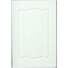 Porte de placard de cuisine de PVC (HLPVC-2)