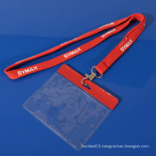 Promotional AZO free custom id card lanyard neck strap(size can be customized)