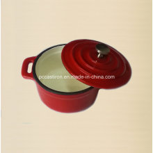 10cm Gusseisen Mini Cocotte Pot China Fabrik