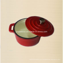 10cm Hierro fundido Mini Cocotte Pot China Factory