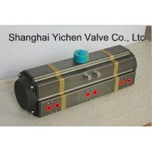 Actionneur à 3 étages, actionneur pneumatique à 3 positions (YC3AT)