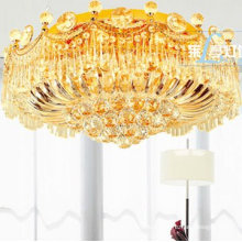 crystal celling light Indian chandelier for living room