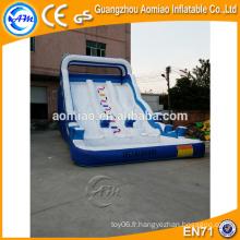 Hippopotame gonflable avec piscine, toboggan gonflable bon marché à vendre australie