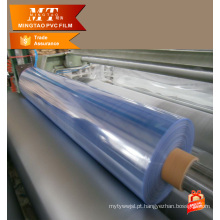Hot Sale Blue Clear Clear PVC Film