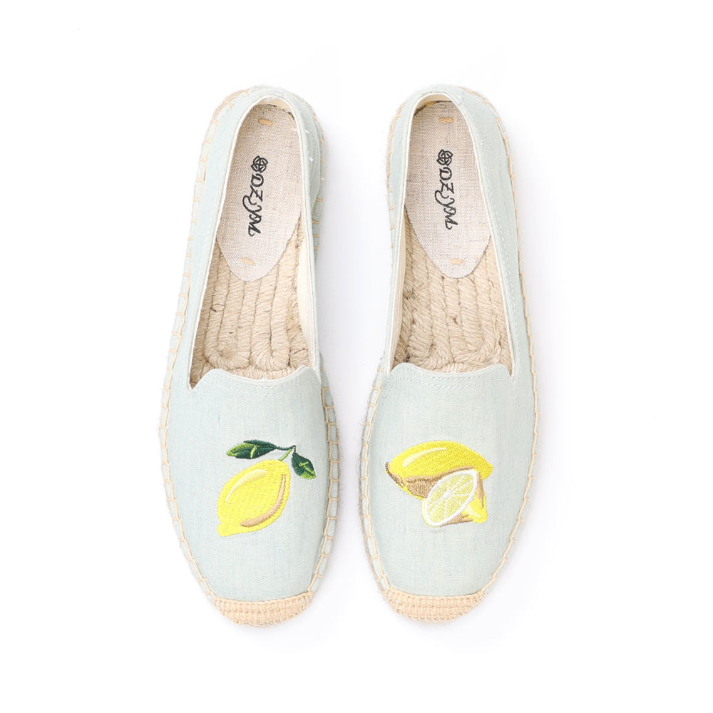 Patch Shoes Embroidery