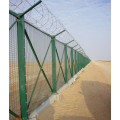 5ft Green Vinyl Coated Chain Link Pagar