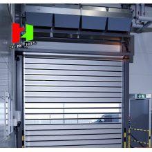 Porte en métal dur à haute vitesse en aluminium sécurisée 2018