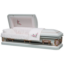 18 Gauge Steel Carnation Empress Casket
