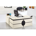 Melamine surface office table