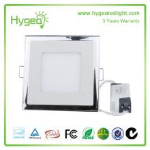 Plafonnier à LED haute direction directe haute lumière LED 18w luminaire à panneau à face unique avec plomb led épissé
