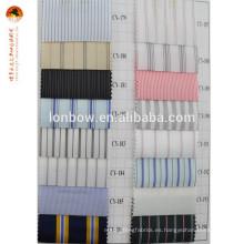 tela 100% de la guarnición de la ropa del poliéster de los hombres al por mayor