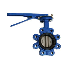 Lug Type Concentric Butterfly Valve with Lever Operater