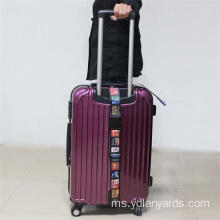 Borong Promosi Custom Made Polyester Luggage Bag