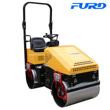 Compactador de rolos de estrada de 1 tonelada