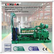 1000 kVA Biomasse-Gasgenerator mit schlüsselfertiger Installation
