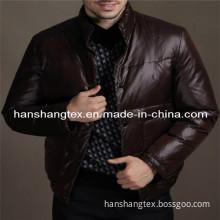380T Nylon Ultra Thin Down Proof Taffeta Fabric for Garment Fabric (HS-D1107)
