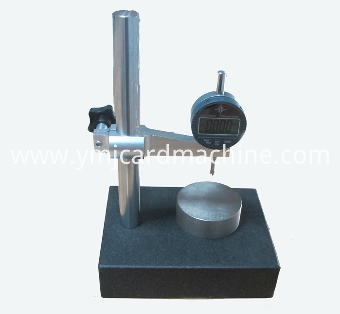 Card Thickness Measuring Machine