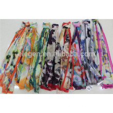 Polyester Printed scarves in stock
