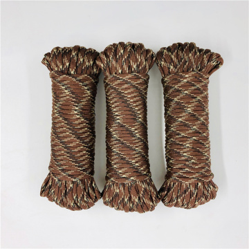 4 мм Paracord 3 Strand Survival For Camps веревка