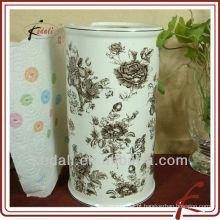 Caixa de papel higiênico de cerâmica
