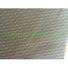 entrelac embossed Suede Fabric