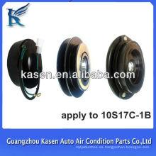 Auto compresor accesorio 10s17c 12v 1B auto eléctrico embrague magnético