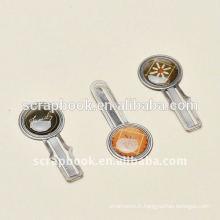 trombones métal métal clips extraits de l'ouvrage