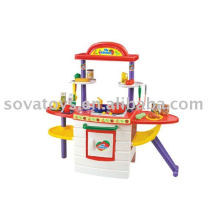 907014090-Kitchen set cooking machine toys