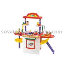 907014090-Conjunto de cozinha máquina de cozinhar brinquedos