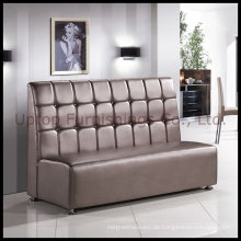 Luxus PU Leder Stand Restaurant Sofa (SP-KS100)