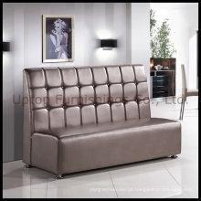 Sofá de luxo do restaurante de cabine de couro PU (SP-KS100)