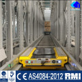 Heavy Duty Warehouse Storage Steel Racks Radio Pallet Shuttle Rack