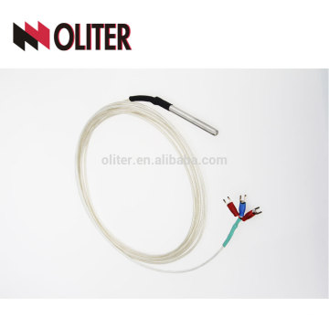 oliter subtle armored straight stranded stainless steel probe wear resistance thermocouple wire for high temperature