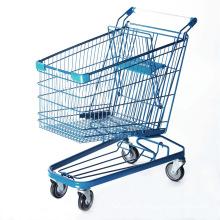 Trolley im Einkaufswagen