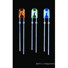 Светодиод овальной формы (GNL-5464UEC)