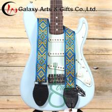 A granel para requisitos particulares impresión Logo con correas de guitarra eléctrica Multicolor para Guitarra accesorios