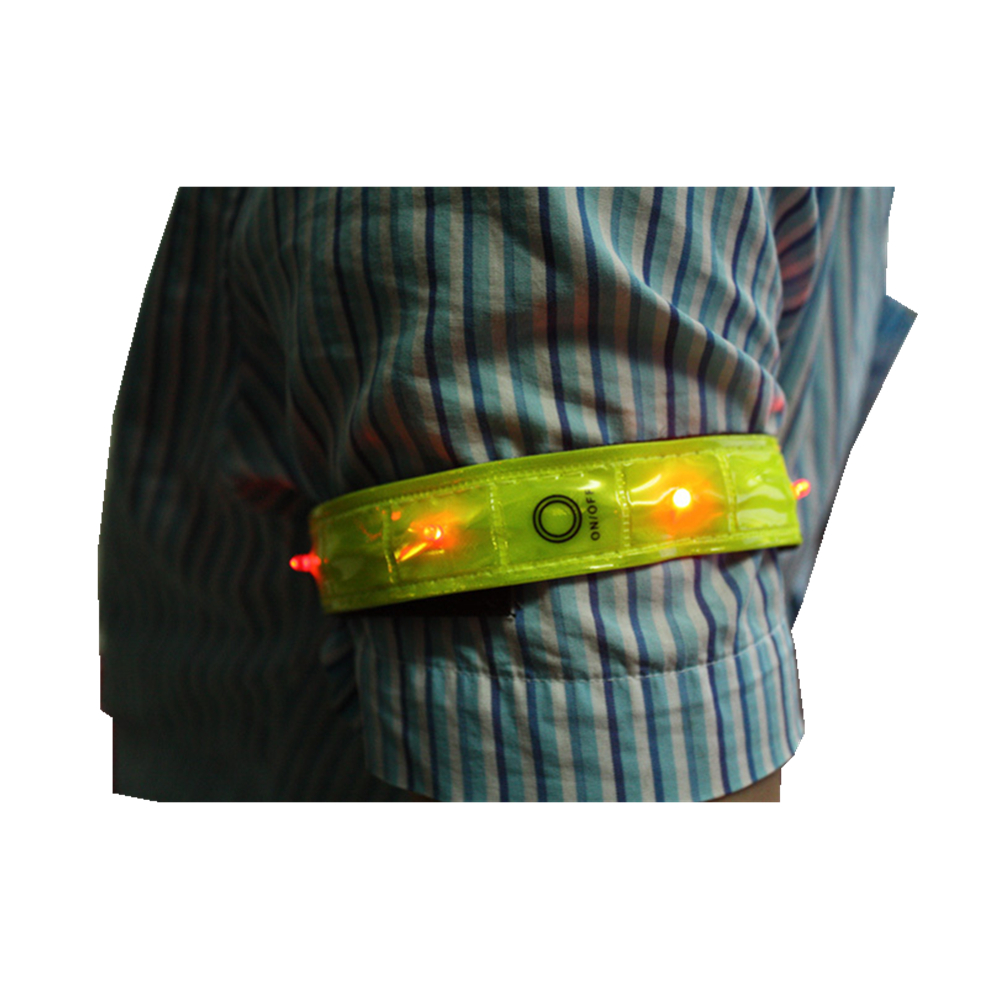 Brazalete Led Intermitente de Seguridad Led para Correr