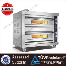 Full Series Luxury Hotel Equipment 4 Bandejas Gas Deck Oven