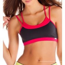 Benutzerdefinierte Sublimation Sport-BH, Lauf-BH, Gymnastik-Yoga-BH