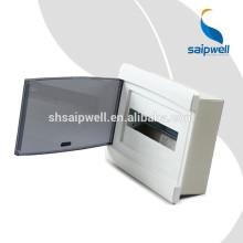 Saipwell 12 voies dégagent la boîte de distribution IP66 288 * 220 * 80 électrique triphasée de distribution d'énergie