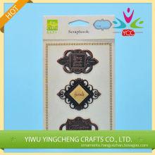 Retro style metal sticker words shaped 2016 yarn interior decoration alibaba co uk chinas supplier
